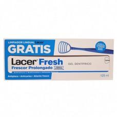 Gel Dental Lacer Fresh 125 ml. con Limpiador Lingual