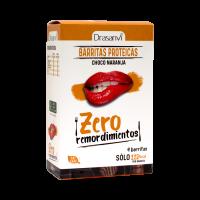 Zero Remordimientos Barritas Proteicas Sabor Naranja con Chocolate