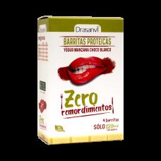 Zero Remordimientos Barritas Proteicas Sabor Yogur de Manzana y Chocolate Blanco
