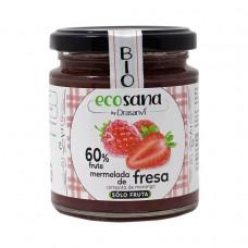Mermelada de Fresa Sólo Fruta 260 gramos Ecosana