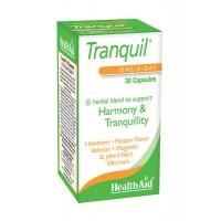Tranquil 30 Cápsulas con efecto anti-estrés y relajante