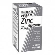 Gluconato de Zinc (90 pastillas de 70 mg.)