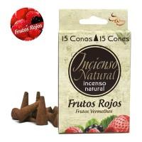 Incienso Natural Sys Frutos Rojos 15 Conos