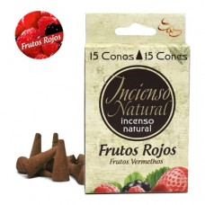 Incienso Natural Sys Frutos Rojos 15 Conos