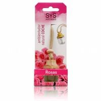 Ambientador de Coche Sys Style 7 ml. Rosas