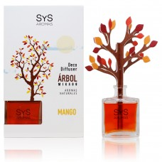 Ambientador Difusor Árbol Sys 90 ml. Mango