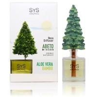 Ambientador Difusor Abeto Sys 90 ml. Aloe Vera-Bambú