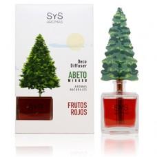 Ambientador Difusor Abeto Sys 90 ml. Frutos Rojos