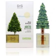 Ambientador Difusor Abeto Sys 90 ml. Gardenia