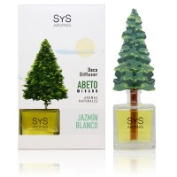 Ambientador Difusor Abeto Sys 90 ml. Jazmín Blanco