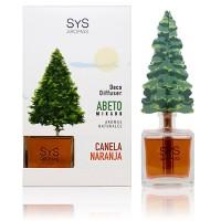 Ambientador Difusor Abeto Sys 90 ml. Canela-Naranja