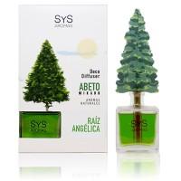 Ambientador Difusor Abeto Sys 90 ml. Raíz Angélica