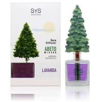 Ambientador Difusor Abeto Sys 90 ml. Lavanda