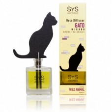 Ambientador Difusor Gato Sys 90 ml. Wild Animal