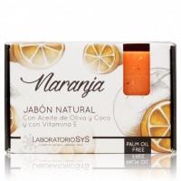 Jabón Natural Sys Premium 100g Naranja