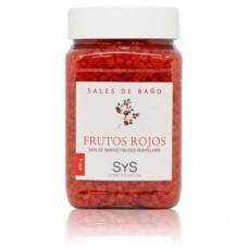 Sales de Baño Sys 400g. Frutos Rojos