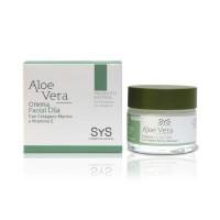 Crema Facial Día Sys Aloe Vera 50 ml.