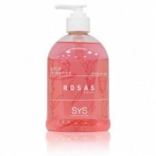 Jabón de Manos Sys 500 ml. Rosas