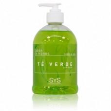 Jabón de Manos Sys 500 ml. Té Verde