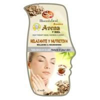Mascarilla Facial Sys Sauna Avena y Miel 15ml.