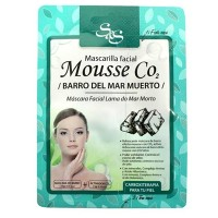 Mascarilla Facial Sys Mousse CO2 13ml. Barro del Mar Muerto