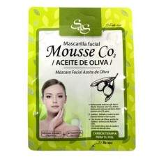 Mascarilla Facial Sys Mousse CO2 13ml. Aceite de Oliva