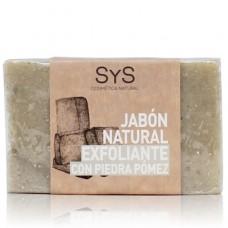 Jabón Natural Sys 100 gramos Exfoliante con Piedra Pómez