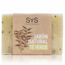 Jabón Natural Sys 100 gramos Té Verde
