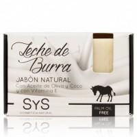 Jabón Natural Sys Premium 100g Leche de Burra